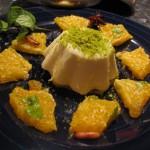 Moroccan-style panna cotta