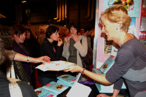 Jill Colonna at the BBC Good Food Show Scotland 2010