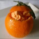 Orange Flower Water Ice-cream