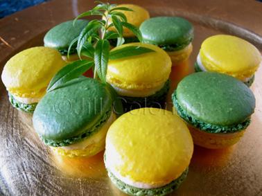 verbena lemon macarons Archives - Mad about Macarons
