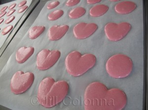 macaron hearts