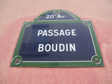 Passage Boudin Paris