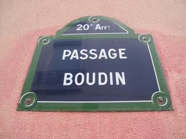 Passage Boudin Paris