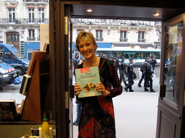 riot police paris book event mad about macarons