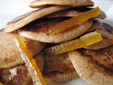 Drop Scones with Chestnut Flour