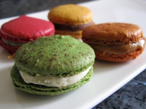 macarons from Pain de Sucre patisserie Paris