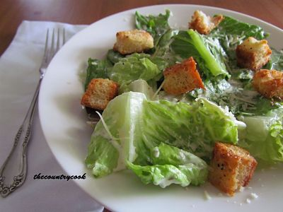 Caesar Salad Dressing from the Country Cook