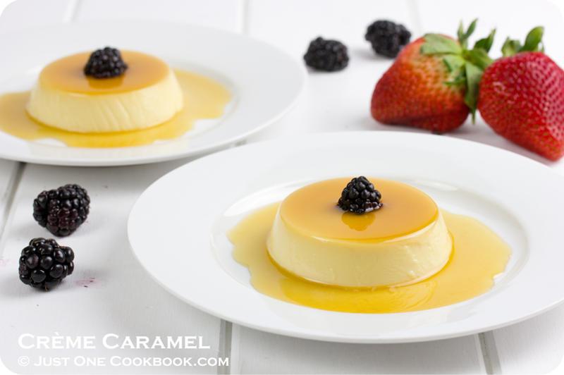 crème caramel purin recipe