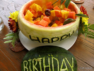 Happy Birthday watermelon