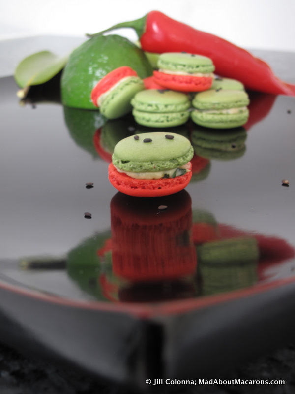 thai red curry mad macarons