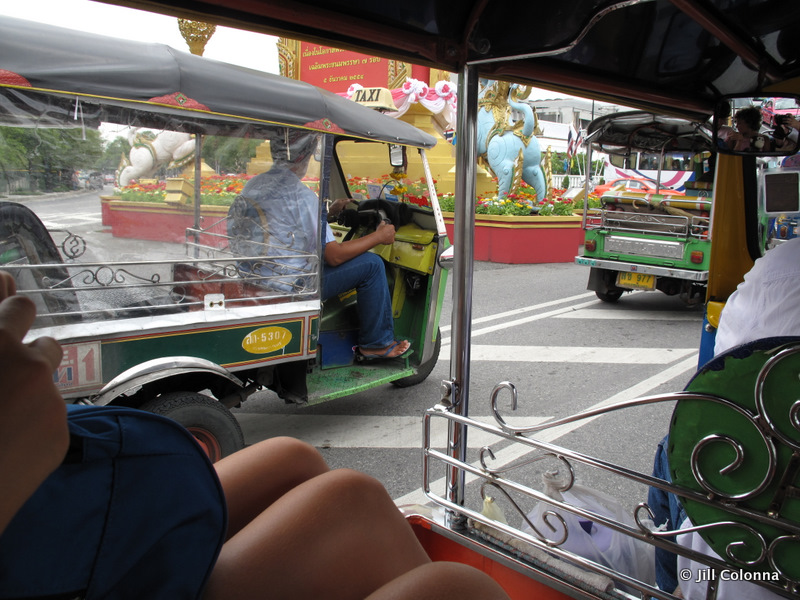 tuk tuk scam ride in Thailand