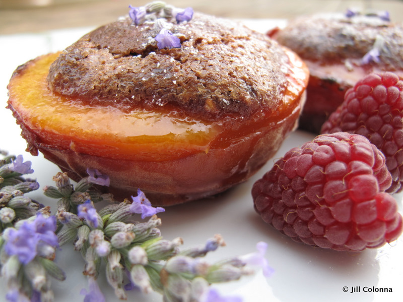 honey-baked-raspberry-peaches