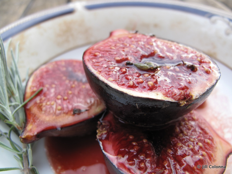 roasted figs in marsala