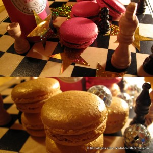 Paris-Bangkok tea infused chocolate macarons