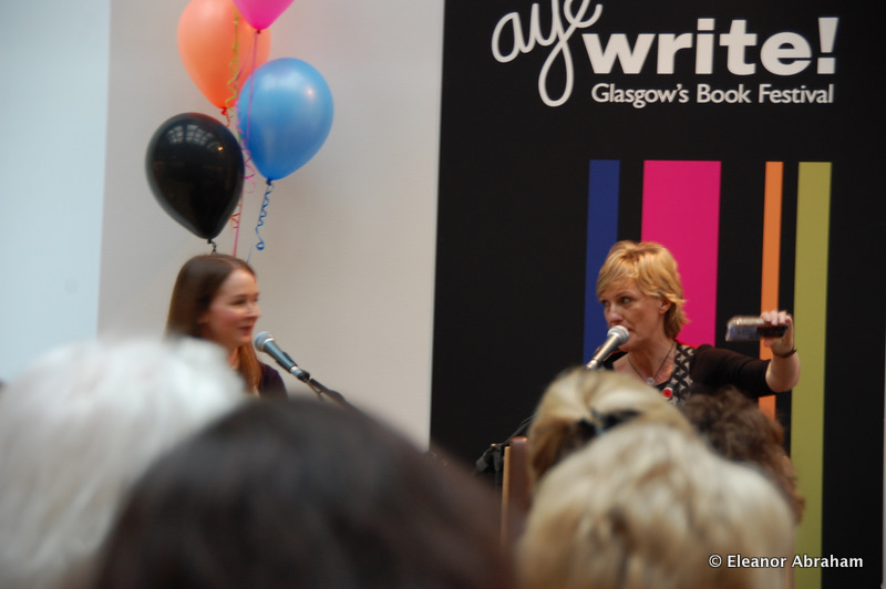 Talking macarons at Glasgow Book Festival UK