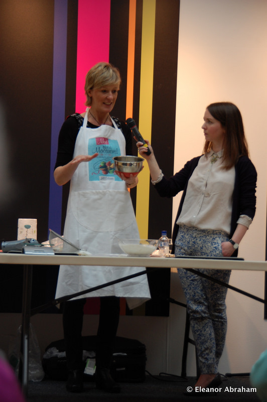 Demonstration Macaron Making Book Festival UK