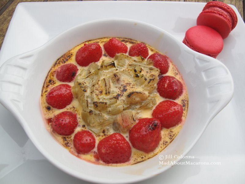 Strawberry Rhubarb Gratin