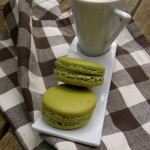 Pistachio-macarons-and-coffee