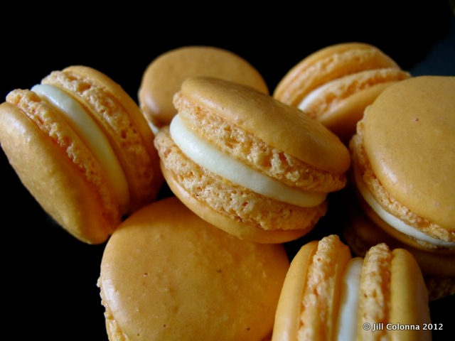 Many more homemade yuzu macarons. Just testing