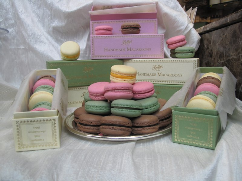 Macarons at Betty's Tea Room York