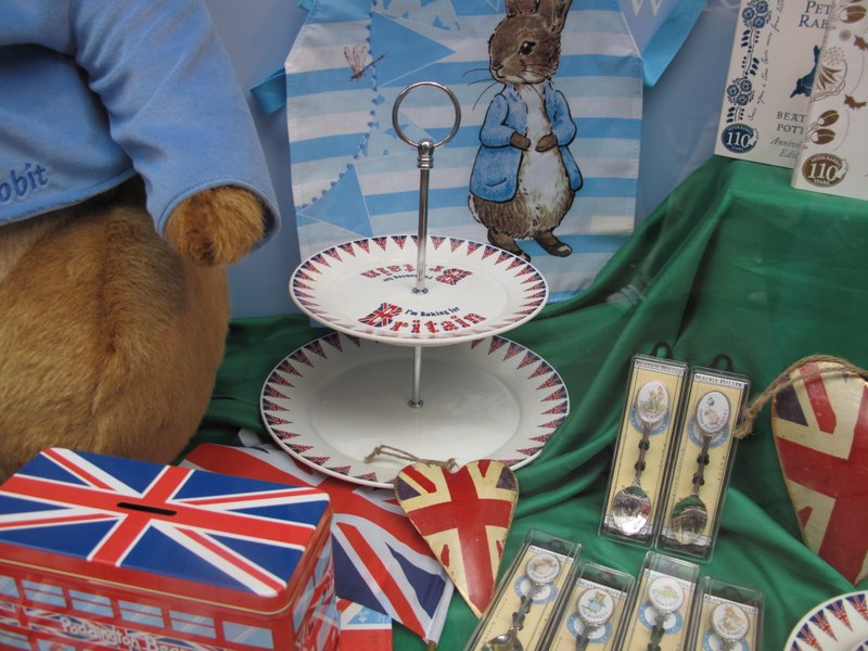 Beatrix Potter Cake Stands