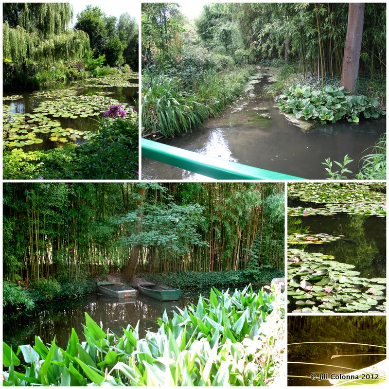 summer gardens Monet Giverny France