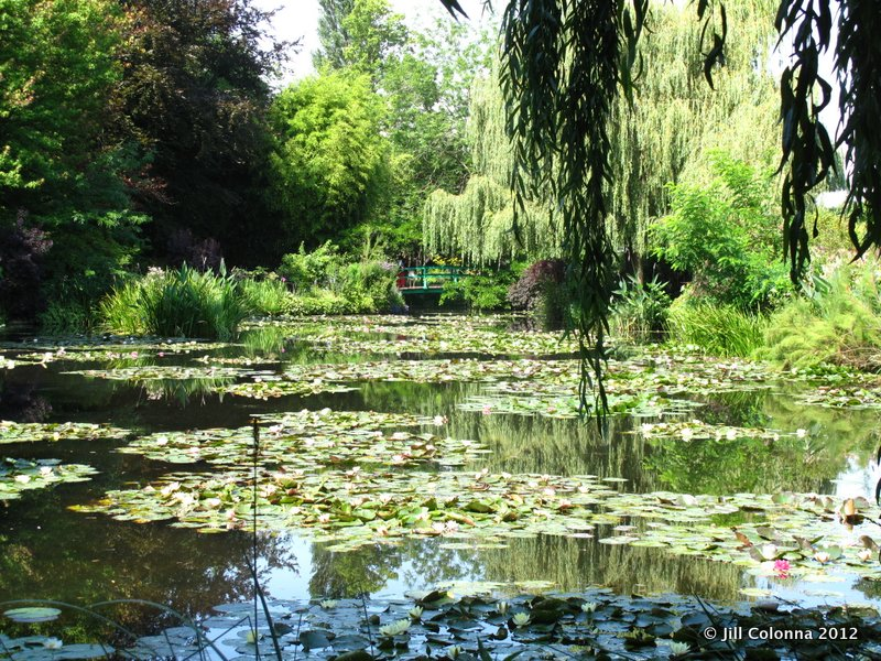 lily pond at Giverny Monet Gardens France