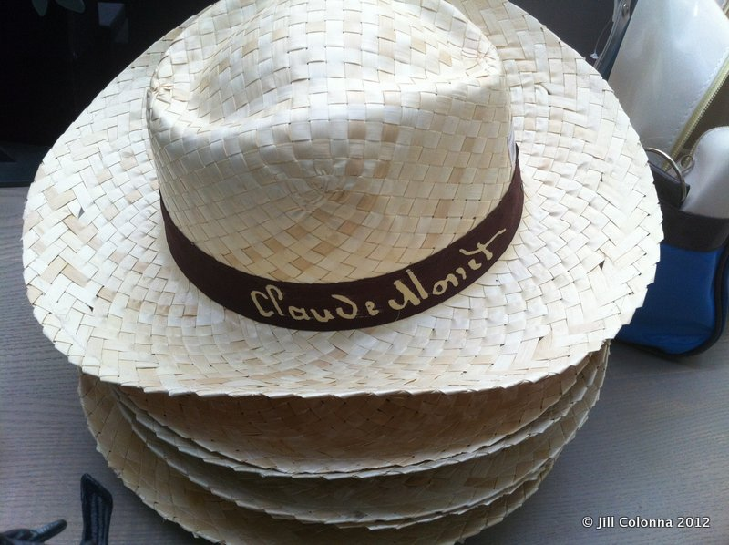 Monet hat at Giverny