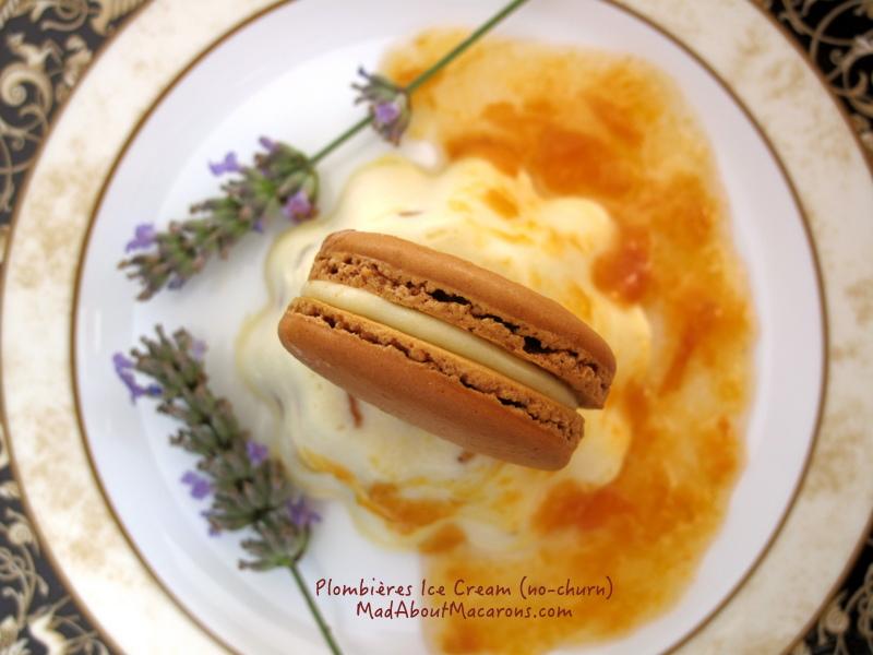 Glazed fruit no-churn ice cream, Plombieres Lorraine Speciality