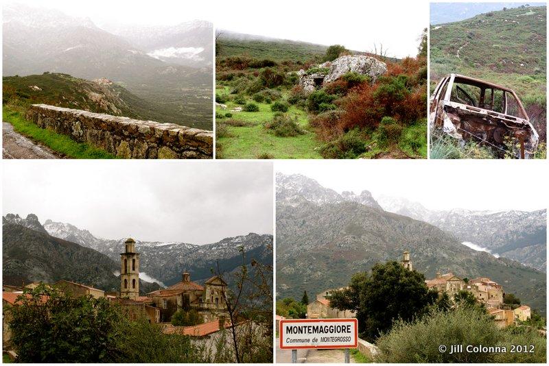 Mountain scenes of Corsica