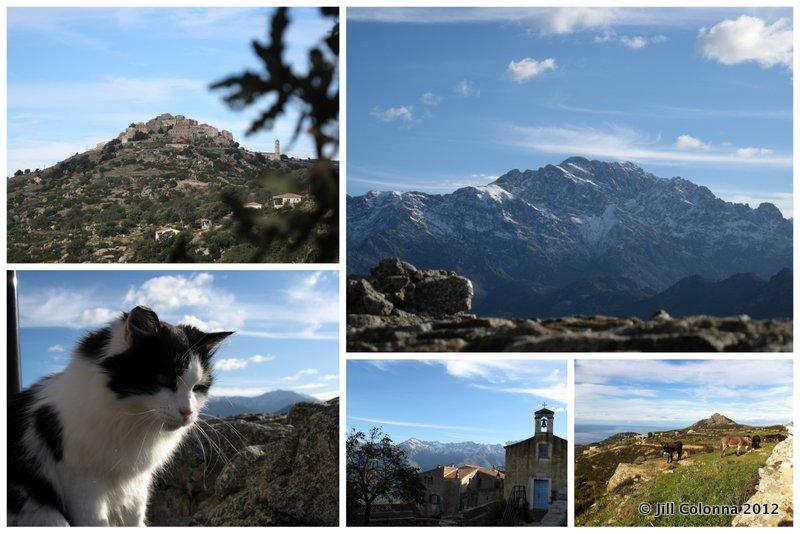 San Antonino perched Corsican Village