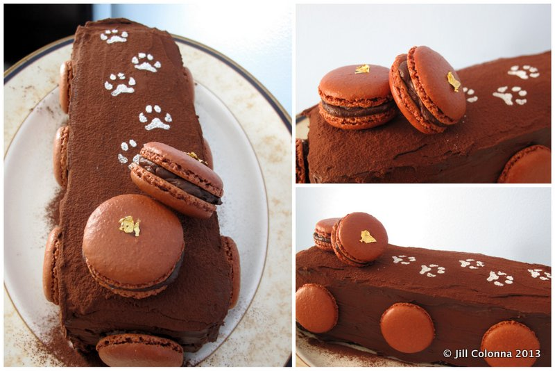 patrick-roger-chocolate-cake-with-macarons