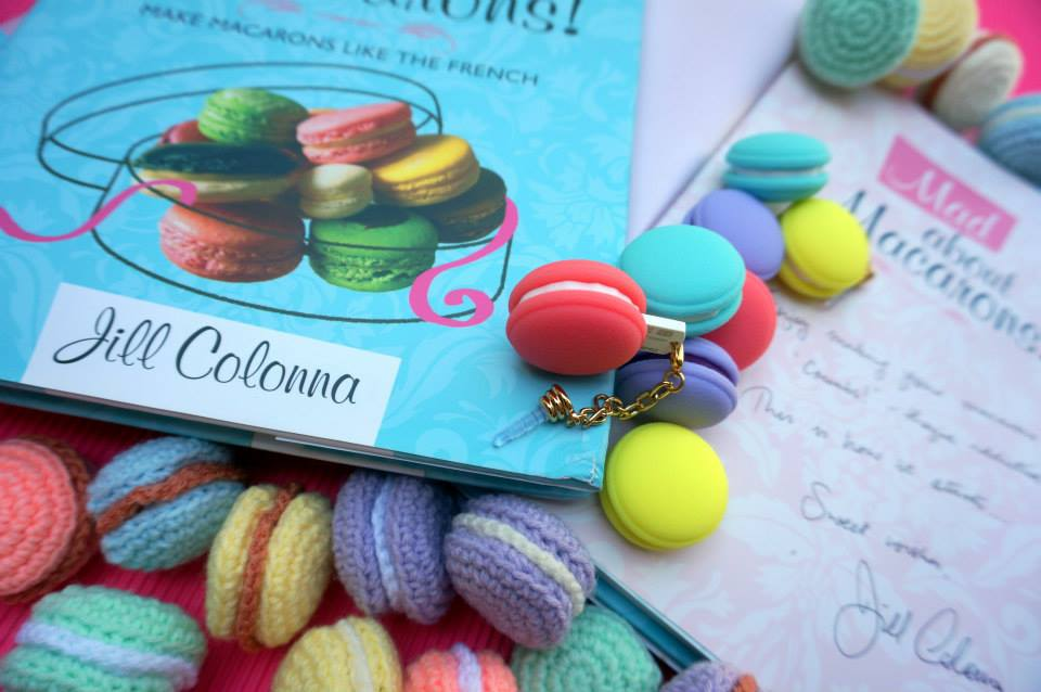 Giveaway photo by Aleena @ Crumbs - with Mad About Macarons!