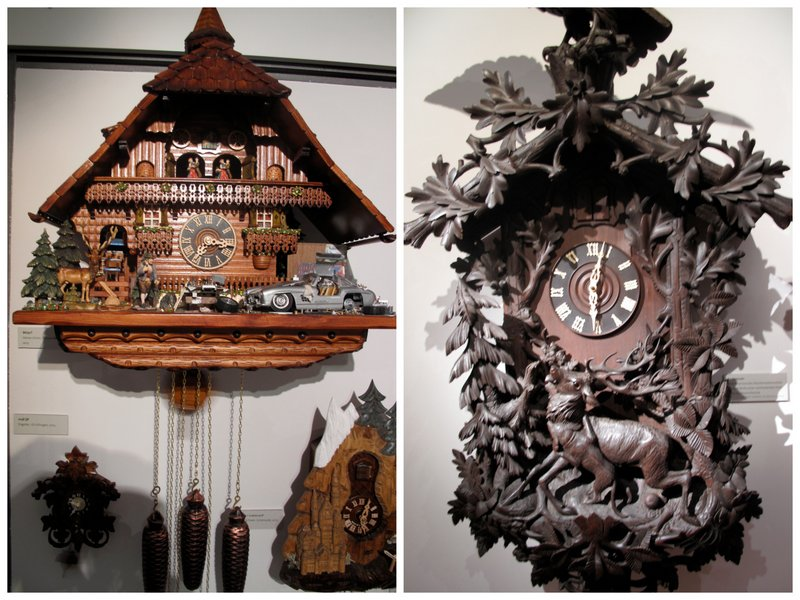 German cuckoo clocks museum Black Forest