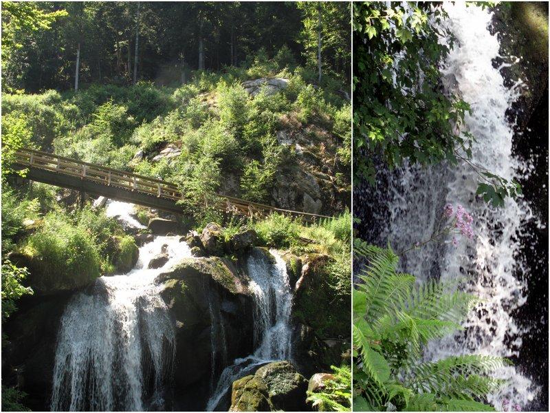 Triberg waterfalls Black Forest Germany