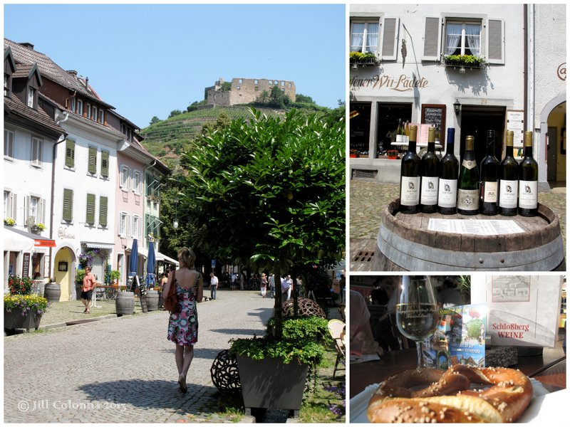 Staufen Black Forest Germany, wine country
