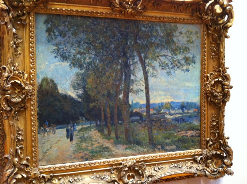 Alfred Sisley Marly le Roi France painting