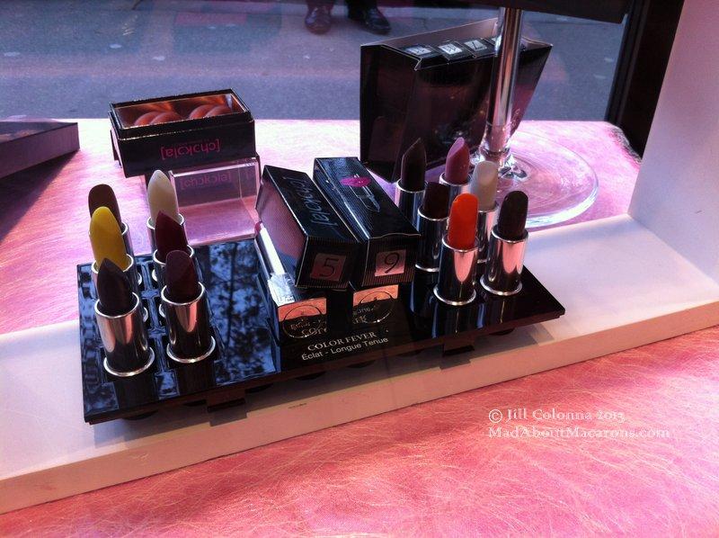 Chocolate lipstick by Sebastian Bouillet Lyon