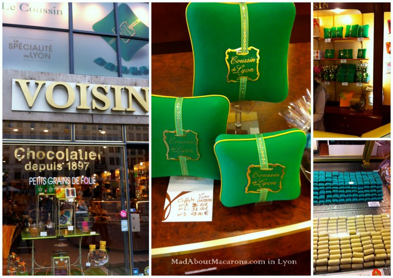 Voisin chocolate shop in Lyon