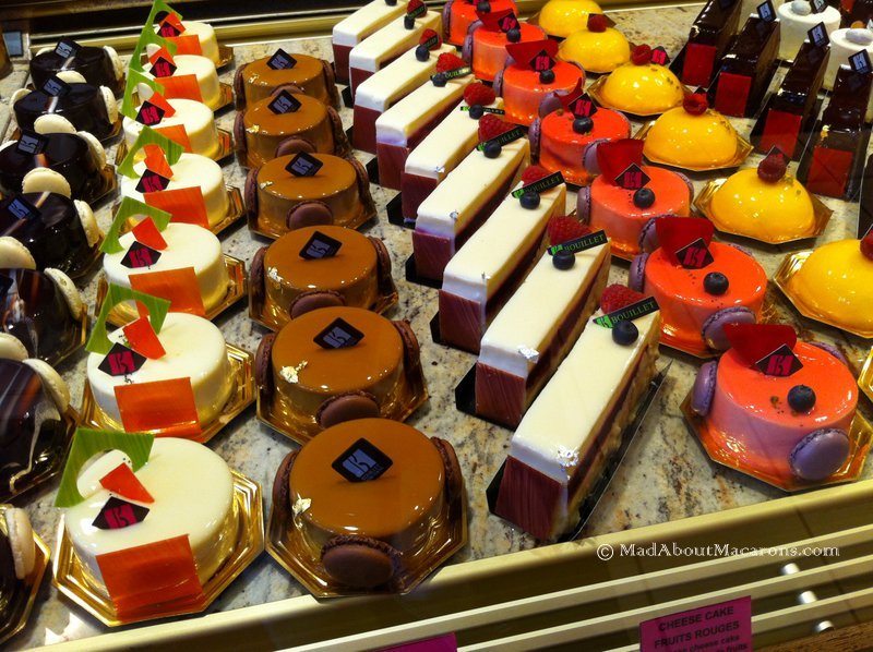 Best pastries at Sebastien Bouillet Lyon