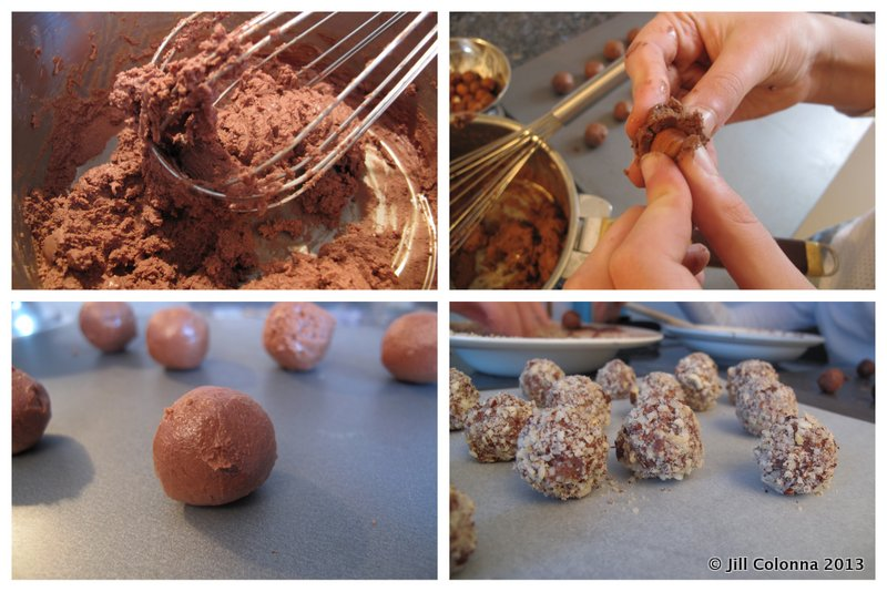 Recipe Hazelnut chocolate bites