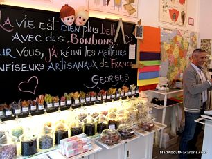 Best sweet shop in Paris