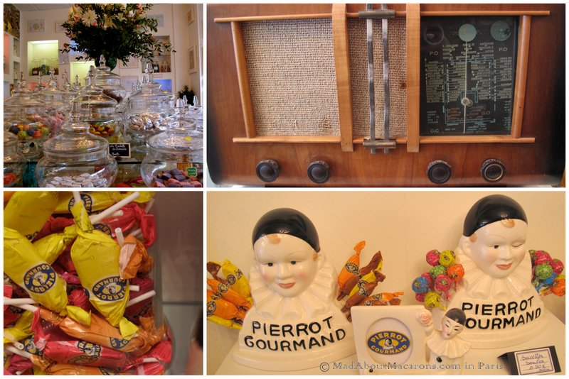 Pierrot Gourmand sucette artisanal lollies the oldest lollipops in France
