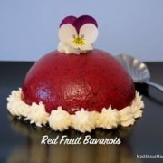 red fruit Bavarois
