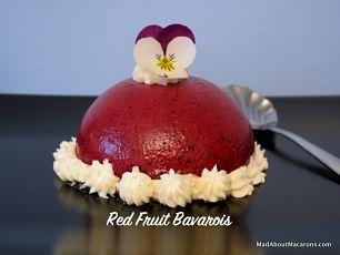 red fruit Bavarois