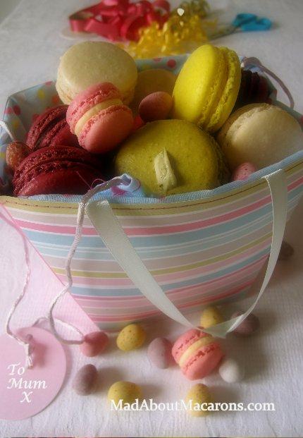 pastel macaron gift box mixed flavours