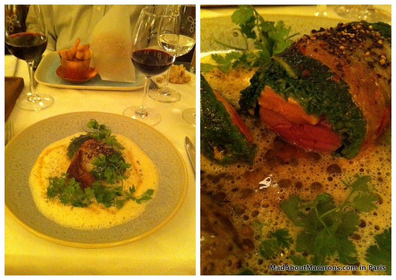 main courses at brasserie Thoumieux Paris