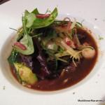 cheeky dish of beef and lemongrass