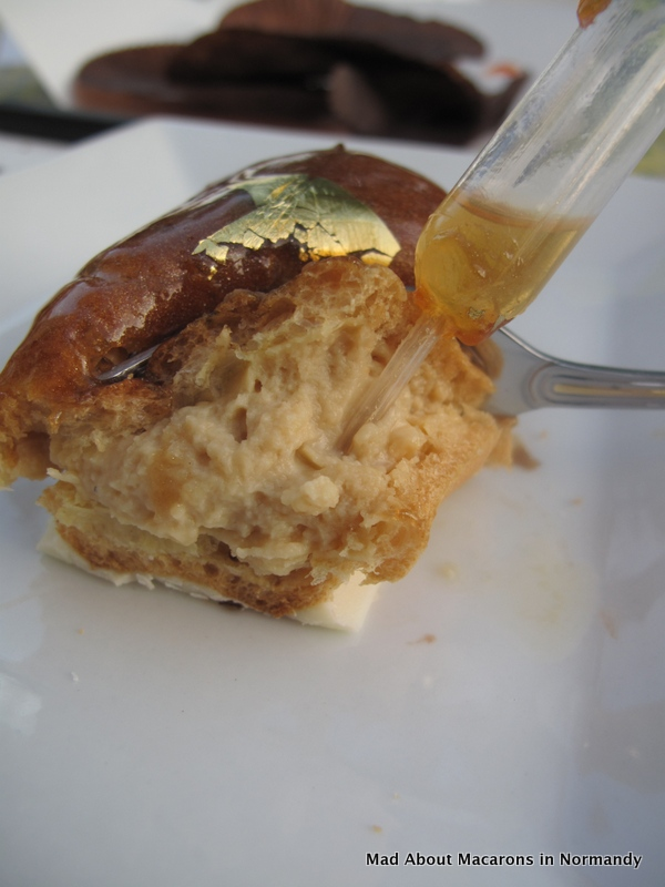 A touch of Lagavulin Whisky eclair by Serge in Le Touquay Normandy