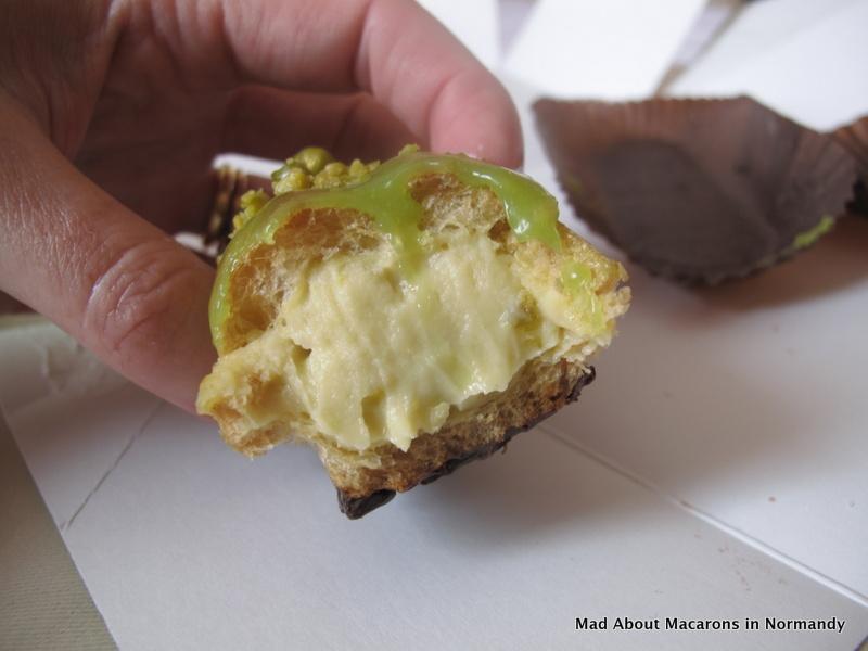 pistachio eclair filling